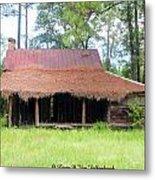 Swamp House Or Cracker Cabin Metal Print
