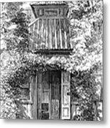 Swedenborgs Cottage Metal Print
