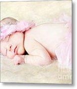 Sweet Baby Girl Metal Print