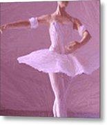 Sweet Ballerina Metal Print