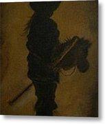 Sweet Little Rider Metal Print