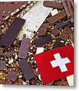 Swiss Chocolate Metal Print by Joana Kruse