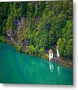 Switzerland - Lake Metal Print