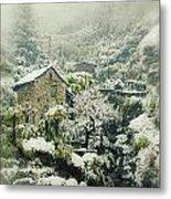 Switzerland In Winter Metal Print by Joana Kruse