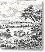 Sydney Cove, Australia, Circa 1790 Metal Print
