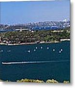 Sydney Harbour Panorama Metal Print