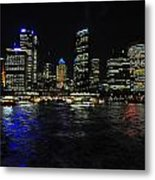 Sydney Harbour Skyline Metal Print by Jacques Van Niekerk