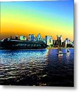 Sydney In Color Metal Print
