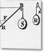 Symbol Language Of Statics Metal Print