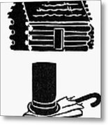 Symbols: Abe Lincoln Metal Print