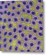 Synaptic Fires Metal Print