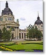 Szechenyli Baths - Budapest Metal Print
