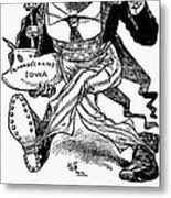 T. Roosevelt Cartoon, 1903 Metal Print