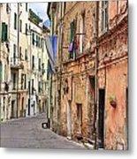 Taggia In Liguria Metal Print
