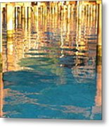Tahitian Reflection Metal Print