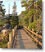 Tahoe Bridge Metal Print by Silvie Kendall