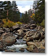 Tahoe Creek Metal Print