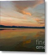 Tahoe Glass Metal Print