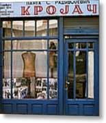 Tailor For Both Sexes. Belgrade. Serbia Metal Print