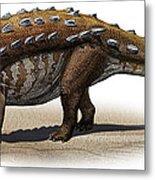 Talarurus Plicatospineus, A Prehistoric Metal Print