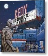 Tales Of The Streets 1 Metal Print