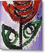 Tali-flowers From The Flower Patch Metal Print