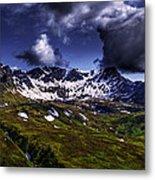 Talkeetna Mountains In Summer Metal Print