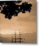 Tall Ship Gorch Fock Metal Print