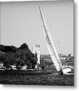 Tall Ship Race 1 Metal Print