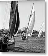 Tall Ship Races 2 Metal Print