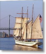 Tall Ship Three Metal Print