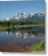 Tallac Reflections Metal Print