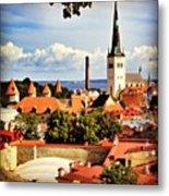 Tallinn - Estonia Metal Print