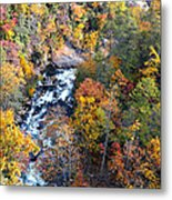 Tallulah River Gorge Metal Print by Susan Leggett