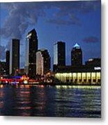 Tampa Convention Center Metal Print