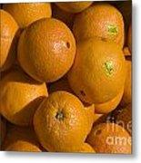 Tangerines Metal Print by Tim Mulina