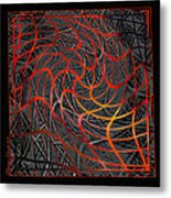 Tangled Web Of Lies Metal Print