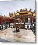 Taoist Temple 2 Metal Print
