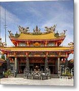 Taoist Temple Metal Print