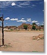 Taos Pueblo New Mexico Metal Print