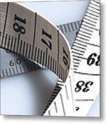 Tape Measure Metal Print