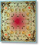Tapestry Mandelbrot Metal Print