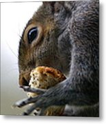Tasty Bread Metal Print