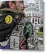Tattoos And Patches Metal Print