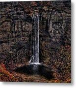 Taughannok Falls II - Hdr Metal Print