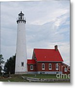 Tawas Point Lighthouse Metal Print