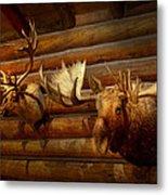 Taxidermy - The Hunting Lodge  Metal Print
