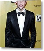 Taylor Lautner At The After-party Metal Print
