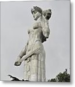 Tbilisi Mother Of Georgia Statue Metal Print