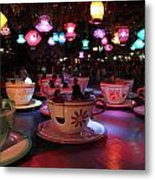 Tea Cups Metal Print